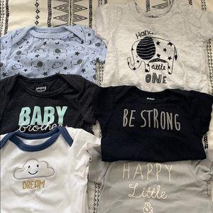 Baby boy onsie bundle